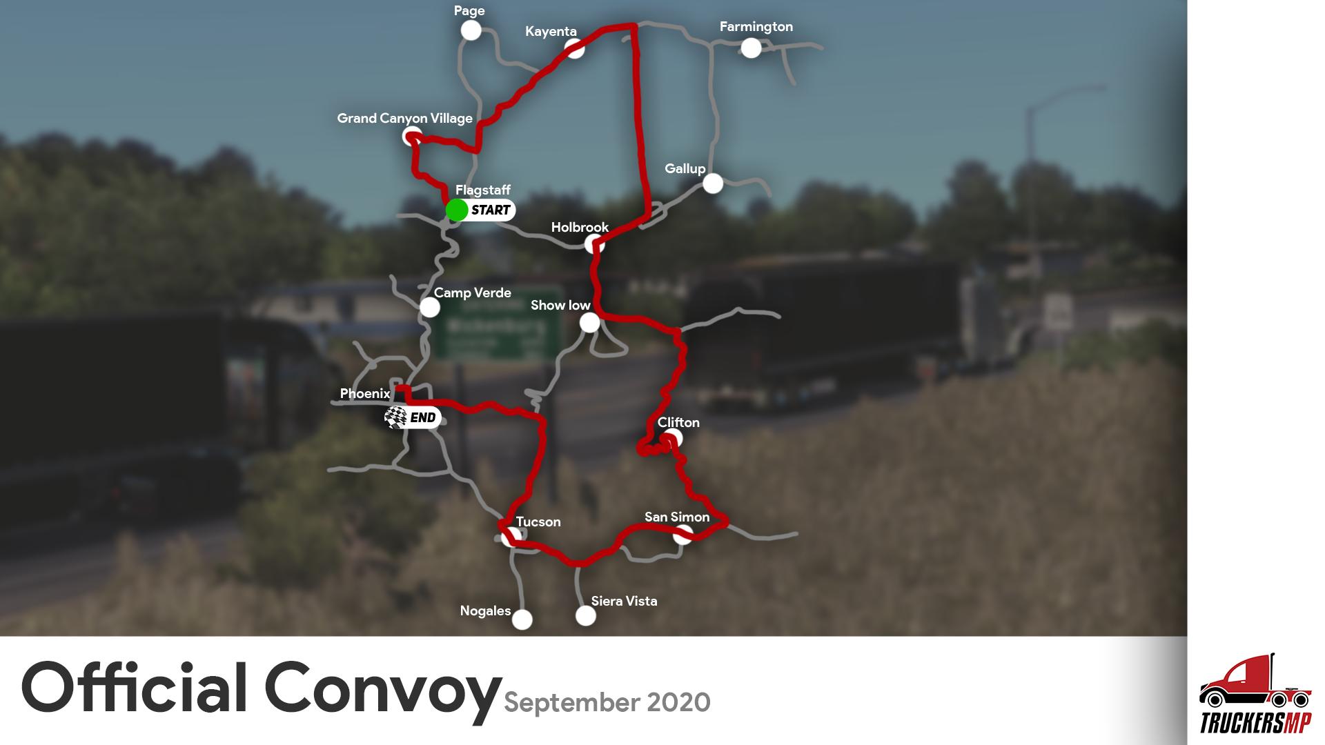官方车队-2020年9月19日星期六
